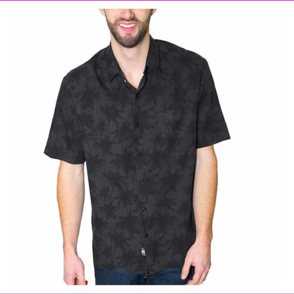 Nat Nast Mens Plaid Print Traditional Fit Silk Blend Shirt